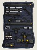 Все насадки и аксессуары можно хранить в стильной сумке-планшете